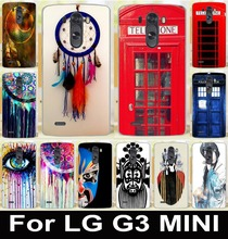 Telephone box Dreamcatcher Soft TPU Cell Phone Cases For LG Optimus G3S G3 Mini G3 Beat D728 5.0 Housing Covers Skin Shell Hood