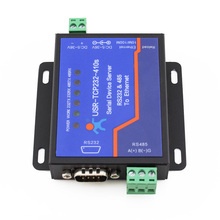 USR-TCP232-410S Free Shipping Terminal Power Supply RS232 RS485 to TCP/IP Converter Serial Ethernet Serial Device Server(China)