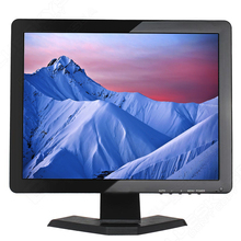 "H15 12 volt dc lcd monitor 15"" cheap computer monitor 1024*768 tft lcd color tv monitor with AV/BNC/VGA/HDMI/USB interface(China)"