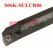 S06K-SCLCR06,turning tool holder boring bar internal turning tools screw locked mini lathe tool holder for CCMT 060204 inserts