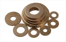 GB97 Copper washers Brass copper washers flat washer meson M2 M2.5 M3 M4 M5 M6 M8 M10 M12 M14 M16 M18 M20 washer pad(China)