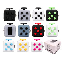 Buy Fidget Cube Toy Vinyl Desk Finger Toys Squeeze Fun Stress Reliever 3.3cm High Antistress Cubo 12 Style for $2.13 in AliExpress store