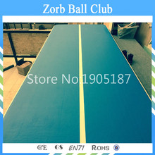 Free Shipping 6x1x0.2m Cheap inflatable gymnastics tumbling mat Air Floor for Home Use Beach/Park and Water Free One Pump(China)