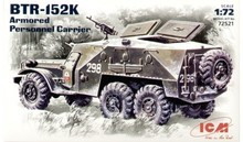 ICM 72521 BTR-152K Soviet armored troop-carrier 1/72 scale kit