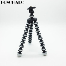 FOSOHALO 165x35x35mmUniversal Mini Octopus Tripod  Stand Spong For Mobile Phones Small Lightweight DLSR Cameras Accessories