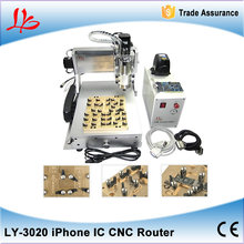 iPhone IC Repair LY CNC Router 3020 , Polishing Machine for iPhone Main Board Repair 110/220V