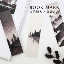 Free Shipping 30 pcs/lot Cute Kawaii Paper Book Marks Vintage Retro Bookmarks Paper Cards For Kids Gift Korean Stationery 3072