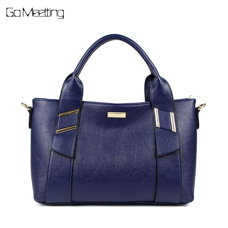 Go Meetting  Luxury Handbags Women Bags Designer PU Leather Fashion Shoulder Bag Marque Bolsas Ladies Tote Crossbody Bags<br>
