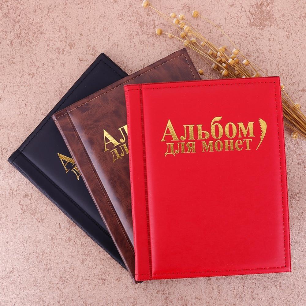 Selamat New 120 Penyimpanan Koleksi Penny Mengumpulkan Koin Album Uang Kertas Mexico 100 Peses 1982 K197 250 Slot Pemegang Pockets Buku Coin 255295