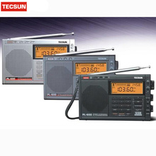 Quality TECSUN PL-600 Digital Tuning Full-Band FM/MW/SW-SBB/PLL SYNTHESIZED Stereo Radio Receiver (4xAA) PL600rqdio New Hot Sale