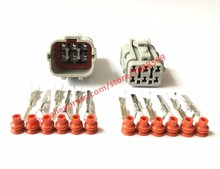 20 Sets Female Male 6 Pin Yazaki 7123-7464-40 7222-7464-40 Automotive Connector Auto Light Lamp Socket Connector Tail Light Plug(China)