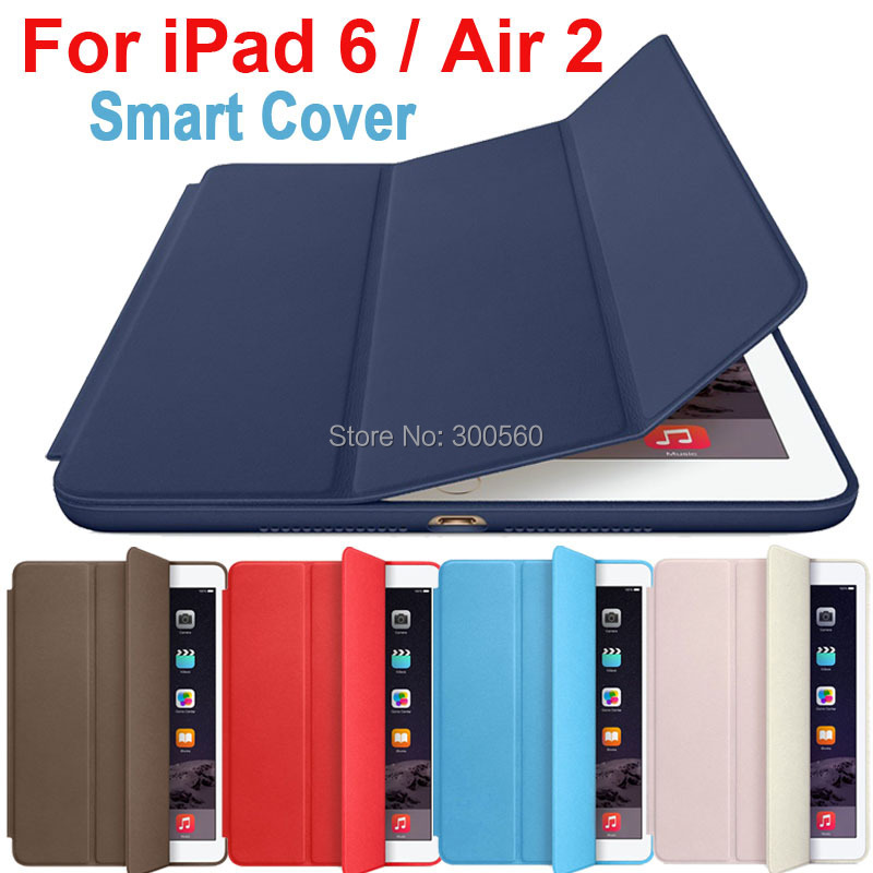 Smart Cover For Ipad Air  2 case Ultra Thin Flip Leather Stand Luxury Original Capa Funda For Apple IPad Air2 case<br><br>Aliexpress