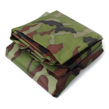 PU Coatin Dustproof/Waterproof Camouflage Motorcycle Scooter Cover Outdoor UV Protection 265*105*125cm Covering Bike