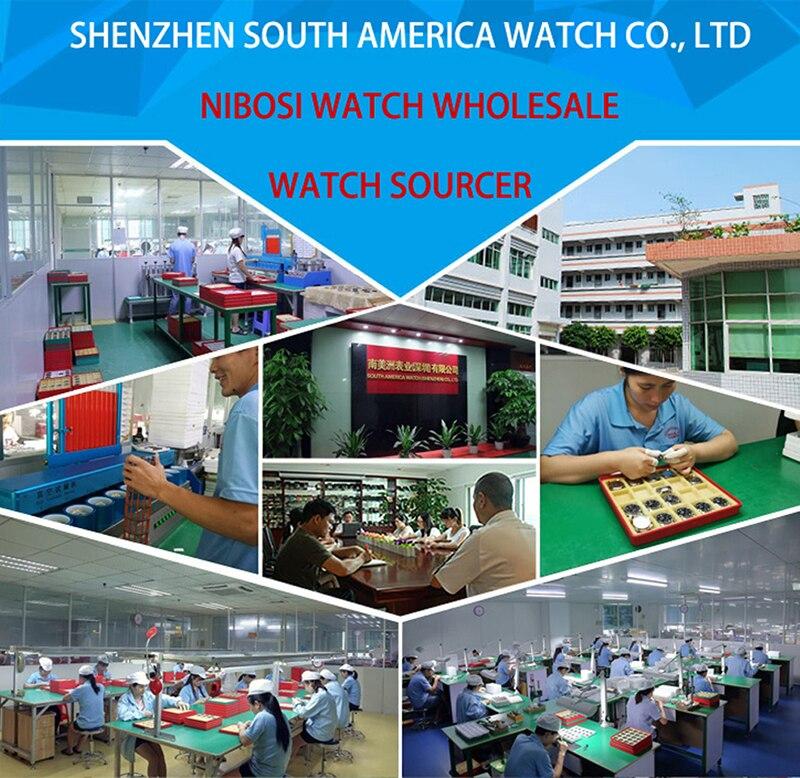 NIBOSI Quartz Wristwatch Simple Fashion Style Men Watch Mesh Band Waterproof Ultra Thin (22)