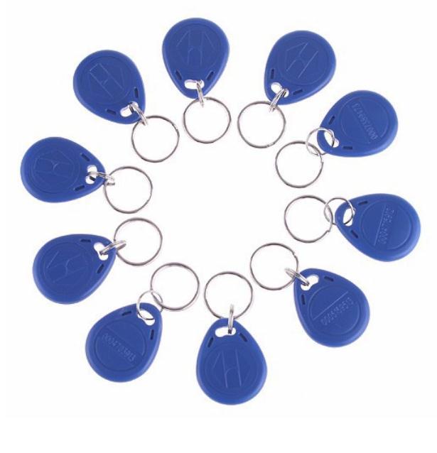 1 PCS EM Card  EM ID keyfobs RFID Key Tag Keys Ring Card 125KHZ Proximity Access Control Duplicate<br><br>Aliexpress