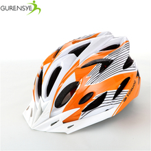 2017 Hot new Bike Cycling Helmet EPS+PVC Ultralight Mountain road orange matte Bicycle Helmet 56-63cm 11 Colors casco ciclismo