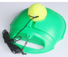 Rebound Racquet Sports Tennis trainer  ball with rope strap and training base board exercise