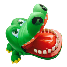 Funny Novetly Cartoon Crocodile Kids Toy Party Mouth Dentist Bite Finger Game Desktop Prank Toy Anti-stress Creative Gifts K2707