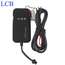 Free shipping Car Motorcycle gps vehicle tracker device for Motor Mini GSM GPRS Realtime Location Tracking Device Alarm Device
