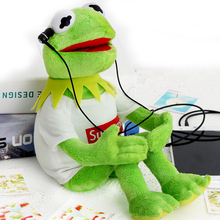 40cm Kermit Plush Toys Sesame Street Doll Stuffed Animal Kermit Toy Plush Frog Doll Holiday Gift(China)
