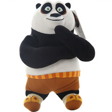 Movie KungFu Kung Fu Panda Toys Stuffed Animal Panda Plush Dolls High Quality 30/40cm
