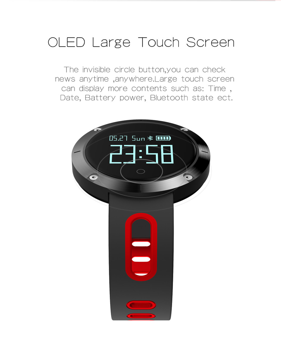 Teyo Heart Rate Monitor Smart Band Fitness Bracelet Blood Pressure Sleep Tracker Pedometer Bluetooth Wristband For Android IOS 7