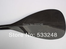 Free shipping 500g lightest prepreg 8.1'' carbon fiber blade sup paddle/stand up board paddle