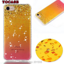 Diamond Bling TPU Soft Case For Iphone 7 Plus I7 7PLUS 6 6S SE 5 5S Ipod Touch 5 6 Flower Cartoon Butterfly Bear Skin Cover 1pcs