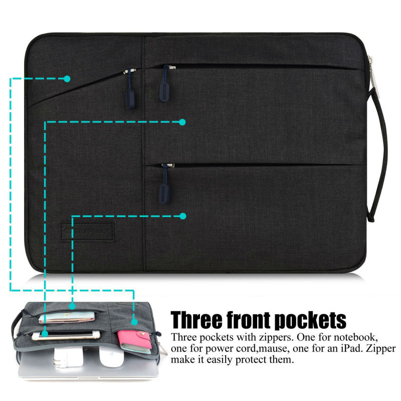 Fashion Design Waterproof Nylon Notebook Bag 13.3 Inch Wholesale Price Pocket Sleeve for MacBook Case Male Bag for MacBook Pro13<br><br>Aliexpress