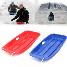Outdoor Sport Adult Kids Sled Sand Sliding Grass Ski Board Children Toboggan Sledge Sled Child Gift 4 Colors
