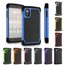 Nexus 5 Case Cover Armor 3D Hybrid Kickstand Shockproof Silicone Phone Cases for LG Google Nexus 5 Nexus5 Back Cover Luxury
