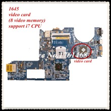 For Dell XPS 1645 Laptop motherboard DA0RM5MB8D0 mainboard Discrete graphics 100% working Free Shipping
