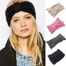 Knit Headband Women Hair bands Headwear Good Quality Girls Head Band Crochet Haiband Warm Head Wrap Ear Cover Hair Accessories(China)