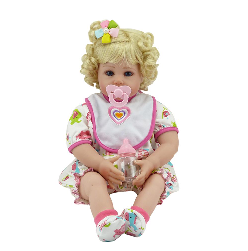 New Silicone Vinyl Adora Lifelike 20 Toddler Baby Bonecas Girl Kid Doll Bebe Reborn Menina De Silicone Toys For Children (9)