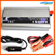 2015 New TBE 1500watt 1500W Modified Sine Wave USB Power Inverter Car Boat DC 12V to AC 220-240V Converter Auto Adapter