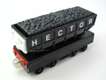 Diecasts Vehicles Thomas T067D HECTOR Thomas And Friends Magnetic Tomas Truck Car Locomotive Engine Railway Train Toys for Boys(China)