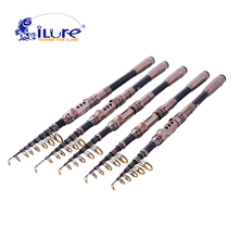iLure Carbon 1.8M-3.3M Portable Telescopic Fishing Rod Spinning fish hand fishing tackle sea rod Pesca tackle 7g-20g Carp rod
