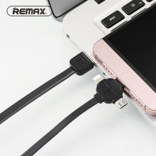 1M Remax 3 in 1 8 Pin Type-C USB C Micro USB Charging Cable Cord for iPhone 5 6s 7 Samsung/Xiaomi/Meizu/Huawei Multi USB Cables