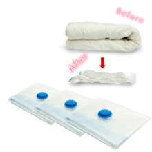 High Quality 60x50cm Vacuum Bag Space Saver Saving Storage Vacuum Seal Compressed Organizer Bag 1pc