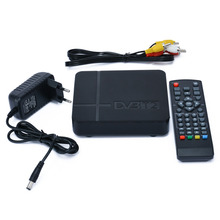 DVB-T2 H.264 TV Satellite Receiver HD 1080P Video Broadcasting Set Top Box+Cable+Remote Control+EU Plug Power Adapter Mayitr(China)