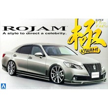 OHS Aoshima 00852 1/24 Rojam 21 Crown Royal Saloon Scale Assembly Car Model Building Kits