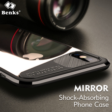 Benks Anti-knock Cover For iPhone X Case Protection Drop Shell Back For iPhone X Coque Funda,Housing Bag Case Cover For iPhoneX(China)