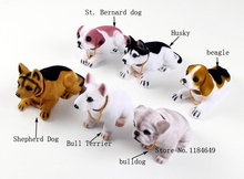 Car Styling New Cute Bobblehead Dog Doll Car Nodding Dog Shakes His Head Shaking Dog For Car Decoration Furnishing Articles(China)