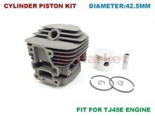 Cylinder Piston Kit for KAWASAKI TJ45E Brush Cutter.Grass Trimmer.Lawn Mower.Tiller.Gasoline Engine Garden Tools Spare Parts