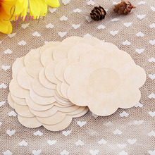 Sexy Flower Adhesive Nipple Covers Pads Body Breasts Stickers Disposable Milk Paste Anti Emptied The Chest Paste Bra 10 Pcs/ Lot