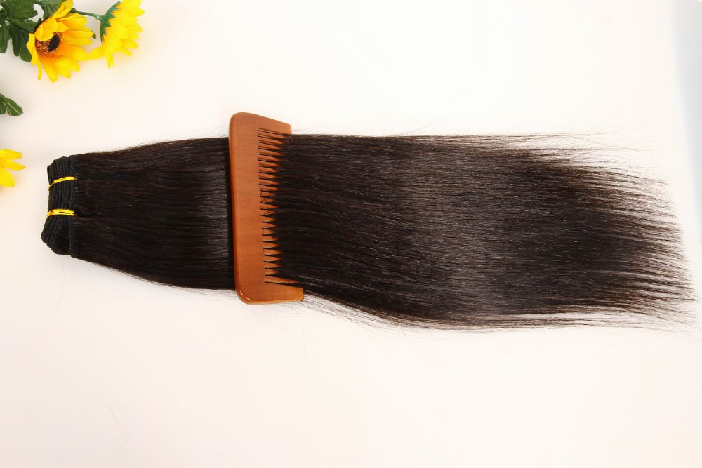 4PCS 182022inch Silky Straight Human Hair Weft 100%Real Human Hair Peruvian Hair Extensions Black Brown Blonde Pure Color<br><br>Aliexpress