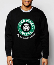 2017 spring winter Star Wars sweatshirt hoodies men hot sale loose fit tracksuit men harajuku fleece high quality brand clothing