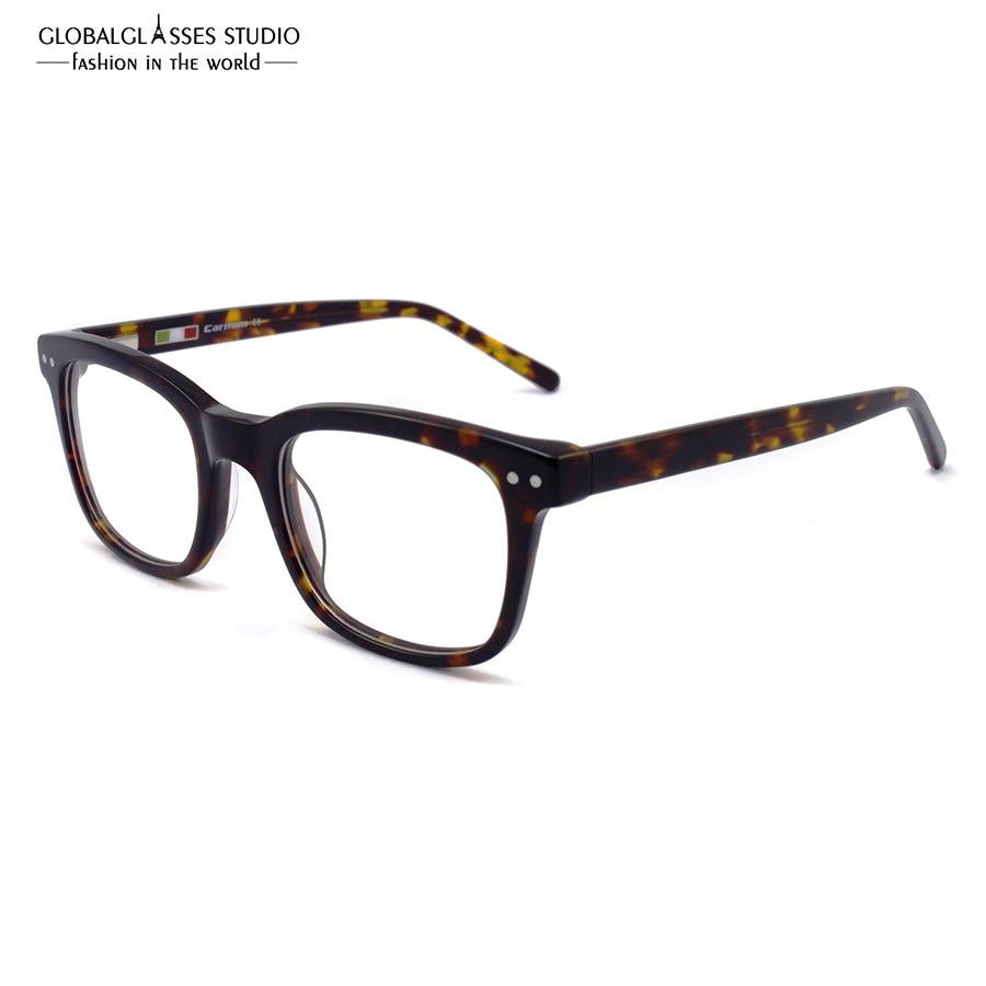 Eyeglass Frames Vintage Men Women Designer Eyewear Frame Optical Eye ...