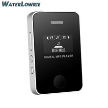 Waterlowrie LCD Screen MP3 Mini USB MP3 Music Media Player Support 16GB Micro SD TF Card Built-in speaker Sport MP 3(China)
