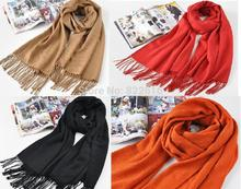 Solid Women's Scarfs Lace Long Capes Female Scarves Capes 210*65cm Pashimina SCARF-871125